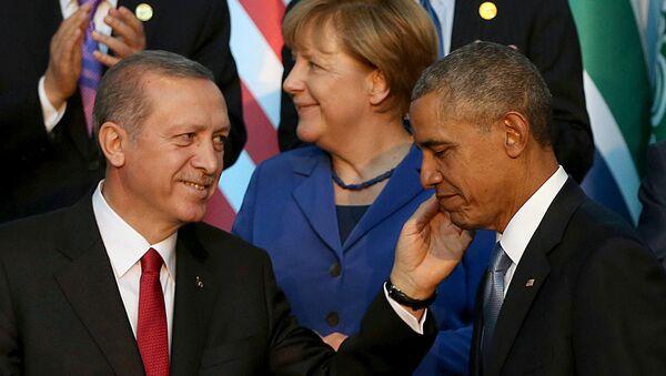 オバマ大統領とエルドアン大統領 シリアへの侵攻について電話で80分間議論する - Sputnik 日本