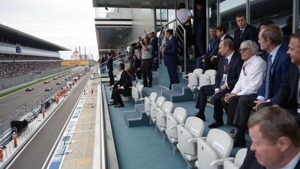 F1オーナー「プーチン大統領に感激している」 - Sputnik 日本