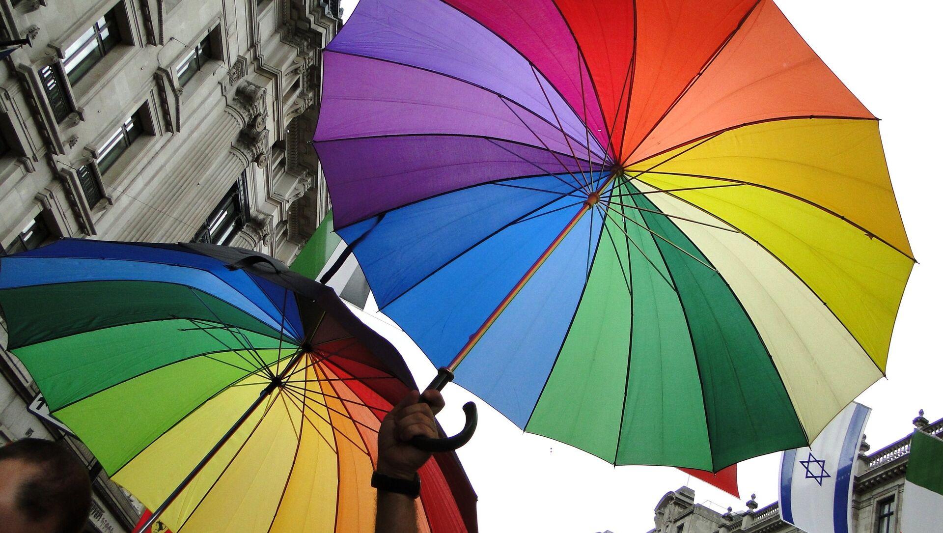 LGBTのパレード(アーカイブ写真) - Sputnik 日本, 1920, 20.06.2021