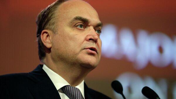ロシアの駐米大使であるアナトリー・アントノフ氏 - Sputnik 日本