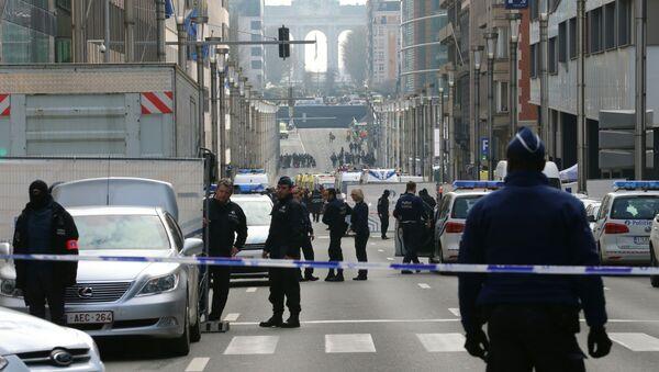 ブリュッセルの警察 - Sputnik 日本