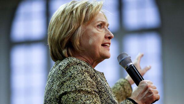 クリントン前国務長官 - Sputnik 日本