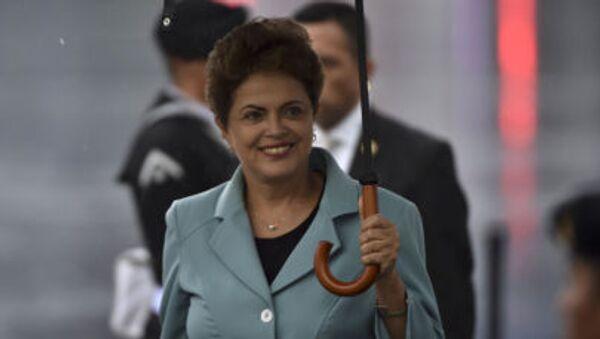 Президент Бразилии Дилма Руссеф - Sputnik 日本