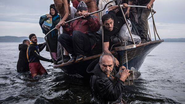 不法移民【資料写真】 - Sputnik 日本