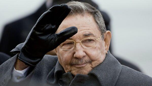 Рауль Кастро прибыл в Москву с официальным визитом - Sputnik 日本