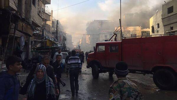 ダマスカスでテロ、少なくとも8人死亡、4人負傷ー赤新月社 - Sputnik 日本