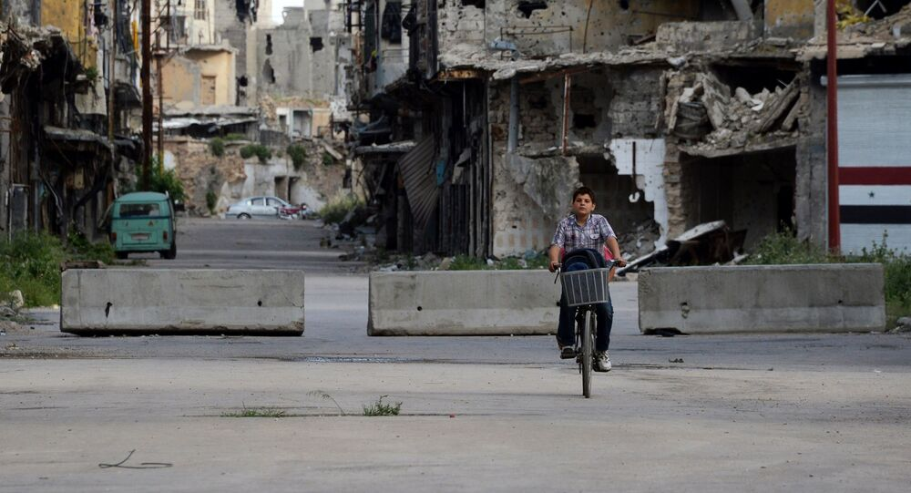 シリアのホマス