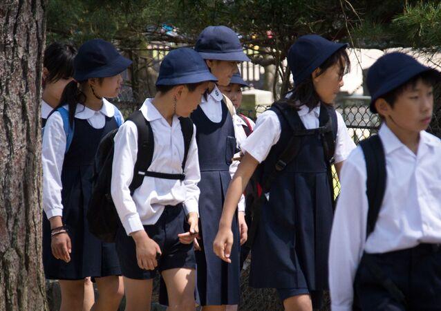 日本人の子供たち