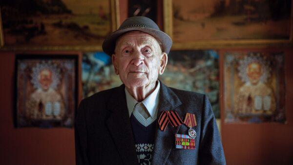 Ветеран Великой Отечественной войны Анатолий Фёдорович Добрынин - Sputnik 日本
