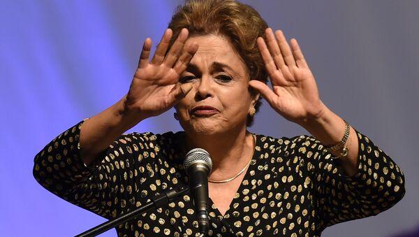 Президент Бразилии Дилма Роуссефф - Sputnik 日本