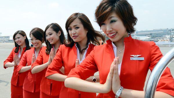 Стюардессы авиакомпании Air Asia Japan - Sputnik 日本
