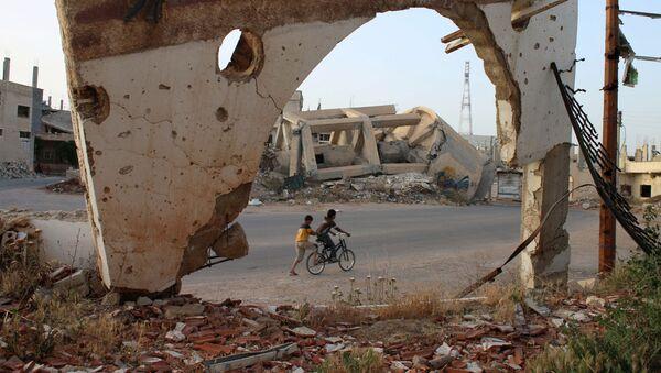 ダーイシュ、シリア南部の爆発に犯行声明 - Sputnik 日本