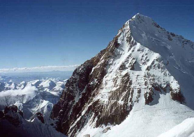エベレストの頂上