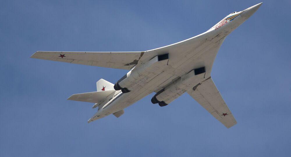 ロシア爆撃機「Tu-160」