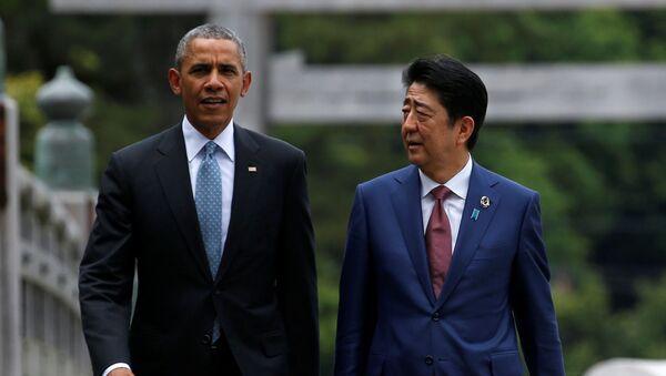 安倍首相、米国に対して対露制裁の温存を確約 - Sputnik 日本