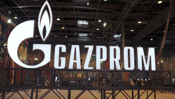 ガスプロムのロゴ - Sputnik 日本
