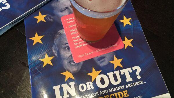 英国、EU残留支持が43%、離脱が41% - Sputnik 日本
