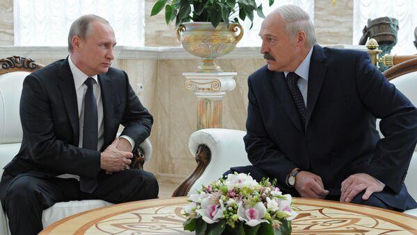 プーチン大統領とベラルーシのルカシェンコ大統領 - Sputnik 日本