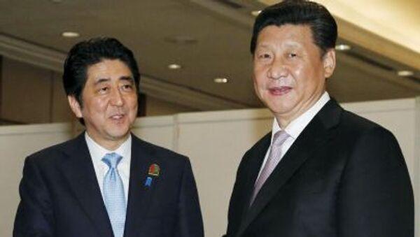 安倍首相、中国の習主席と会談 来年の来日に向け調整加速 - Sputnik 日本