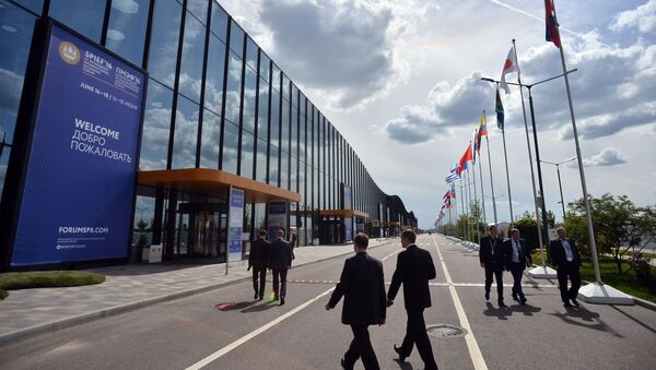 Подготовка к открытию Петербургского экономического форума - Sputnik 日本