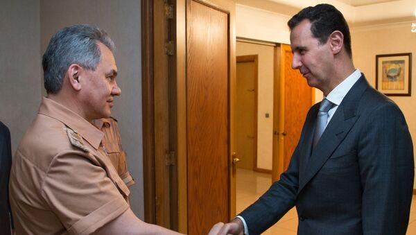 ショイグ露国防相とアサド大統領 - Sputnik 日本