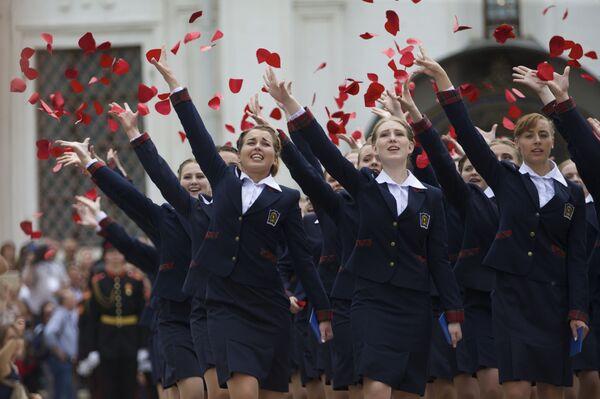 モスクワ、陸軍幼年学校生、6月25日 - Sputnik 日本