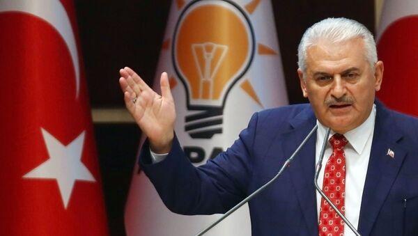 Премьер-министр Турции Бинали Йылдырым - Sputnik 日本