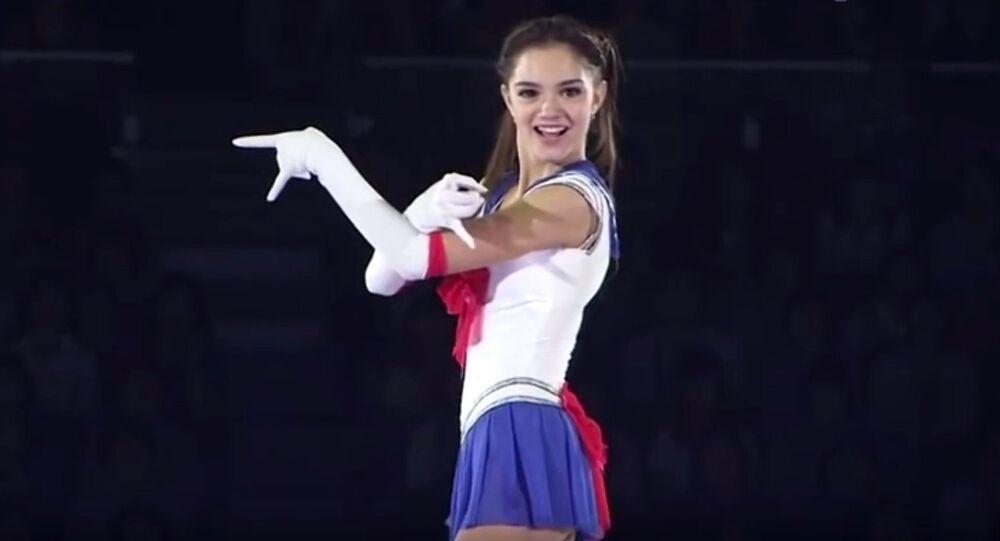 エヴゲニヤ・メドヴェージェワ選手
