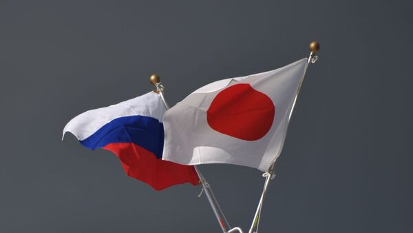 日本国旗とロシア国旗 - Sputnik 日本