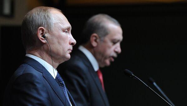 プーチン大統領とエルドアン大統領 8月上旬にロシアの都市で会談 - Sputnik 日本