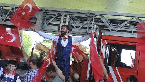 トルコで軍事クーデター未遂 - Sputnik 日本
