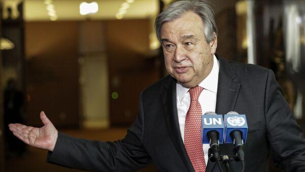 アントニオ・グテーレス国連事務総長 - Sputnik 日本