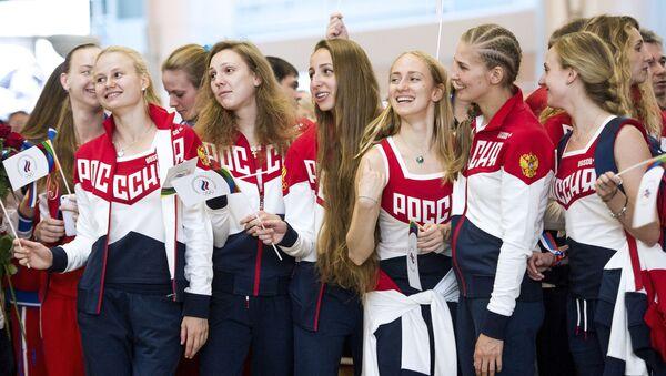 ロシアのオリンピック代表団 - Sputnik 日本
