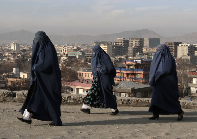 アフガニスタン女性