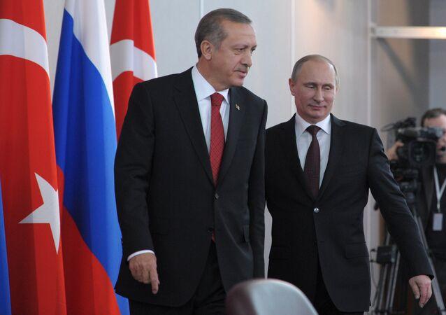 プーチン大統領とエルドアン大統領