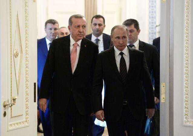 プーチン、エルドアン両大統領の連合は世界のパワーバランス変える可能性
