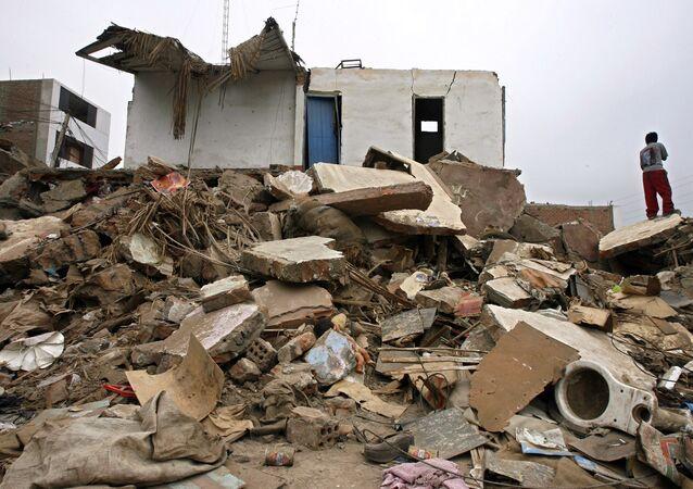 ペルーでの地震(2007年)