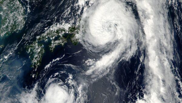 台風【アーカイブ写真】 - Sputnik 日本