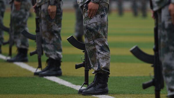 中国特殊部隊 チェチェンで訓練へ - Sputnik 日本