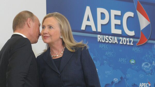 クリントン氏 プーチン大統領との夕食よりもトランプ氏との夕食を望む - Sputnik 日本