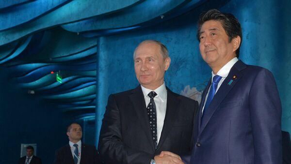 プーチン大統領、安倍首相 - Sputnik 日本