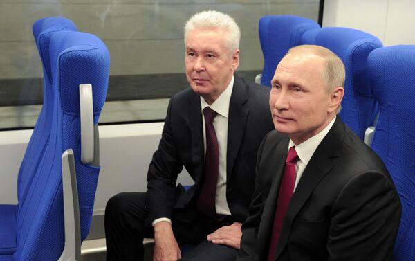 モスクワ中央環状線、待望のオープン - Sputnik 日本