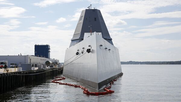 総工費40億ドルの米最新戦艦に浸水 - Sputnik 日本