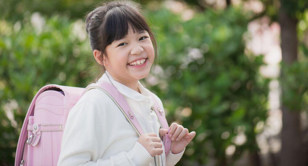日本人の小学生