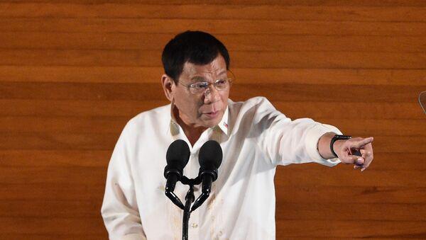 Le président des Philippines, Rodrigo Duterte - Sputnik 日本