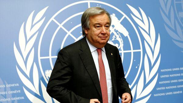 アントニオ・グテレス国連事務総長 - Sputnik 日本