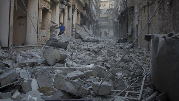 国連:アレッポ東部は2ヶ月後完全に破壊されている可能性 - Sputnik 日本