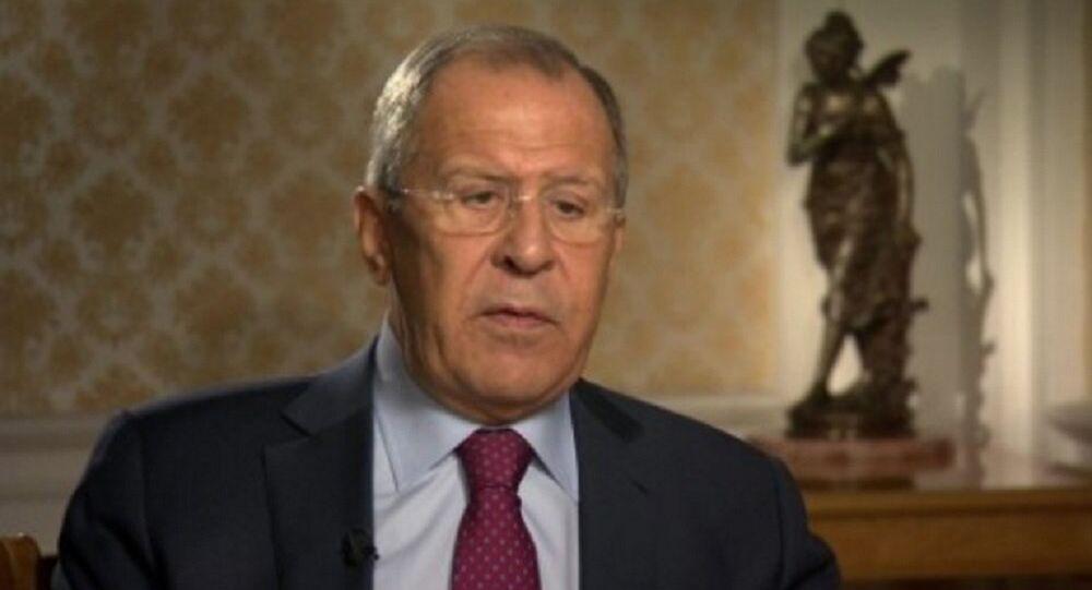 ラヴロフ露外相、アレッポ行き人道物資輸送車列の爆撃に露加担の断定は政治化されたもの、事実の裏づけは皆無