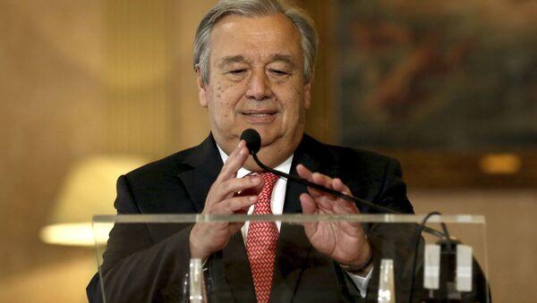 次期国連事務総長のグテレス氏 - Sputnik 日本