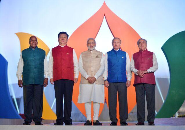 BRICS首脳会議開幕、ゴア